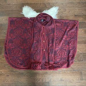 [Novica] Alpaca Wool Poncho Cape Sweater